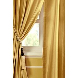 Ciel Dupioni Silk 84-inch Curtain Panel