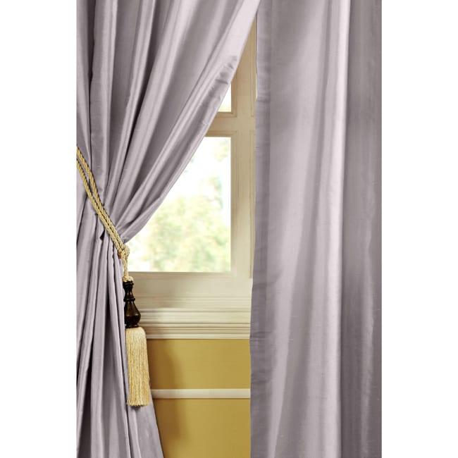 Eliza Dupioni Silk 84-inch Curtain Panel - 13696034