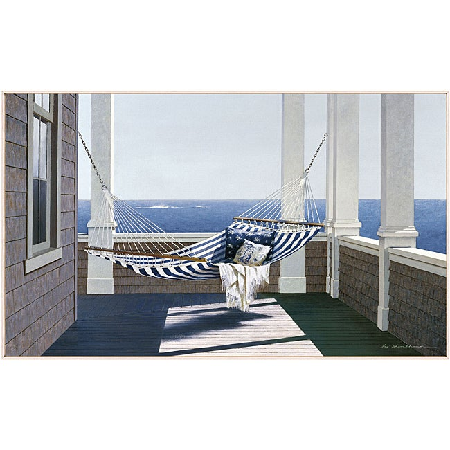 Zhen Huan Lu 'Striped Hammock' Art Block