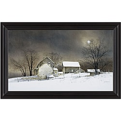 Ray Hendershot 'New Moon' Framed Print