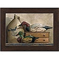 Kathleen Cope-Ruoss 'Canvasback and Wood Duck' Framed Print Art
