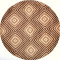Hand-tufted New Wave Dunes Rug (5'9 Round)