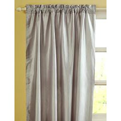 Faye Dupioni Silk 84-inch Curtain Panel