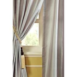 Faye Dupioni Silk 96-inch Curtain Panel