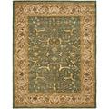 Safavieh Handmade Heritage Kashen Blue/ Beige Wool Rug (8'3 x 11')