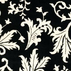Safavieh Handmade Soho Sillo Black New Zealand Wool Rug (5'x 8')