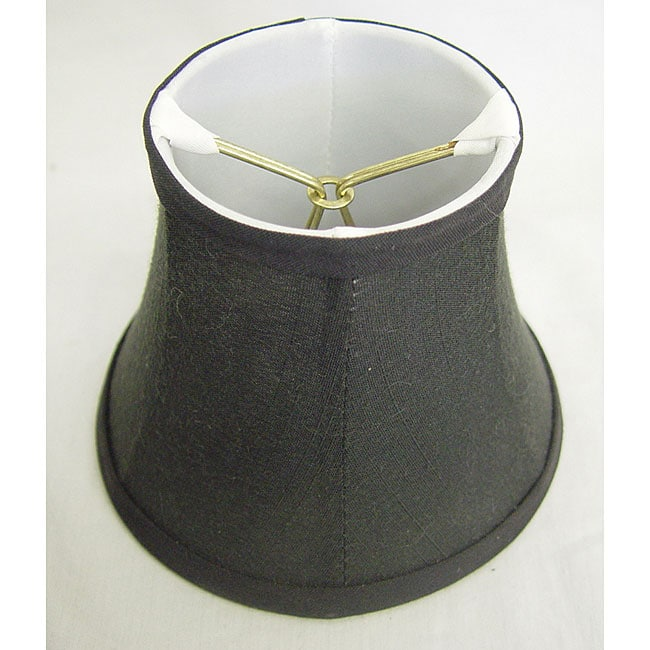 Round Silk Black Lamp Shade 13696483
