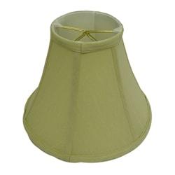 Round Beige Clip Silk Lamp Shade