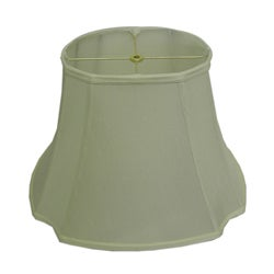 Oval Cut-corner Off-white Lamp Shade