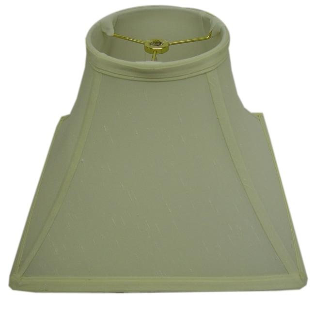 Square Round-top Cream Lamp Shade