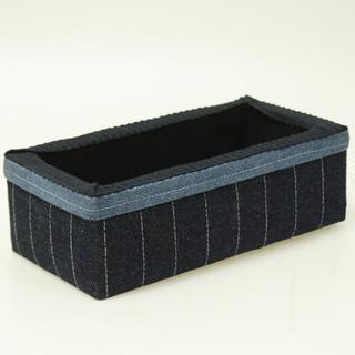 Susy's Small Denim Sewing Storage Box