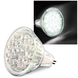 Warm White 19 LED 0.9W MR11 Light Bulb