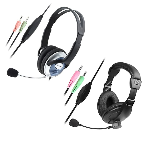 INSTEN Handsfree Headset with Microphone for VOIP/ SKYPE