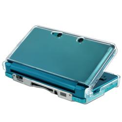 Clear Snap-on Crystal Case for Nintendo 3DS