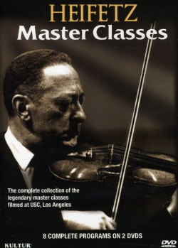 Heifetz Master Classes (DVD)