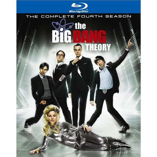 The Big Bang Theory: The Complete Fourth Season (Blu-ray Disc) 8129614