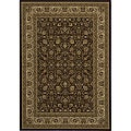 Westminster Brown Kashan Rug (2' x 3'3)