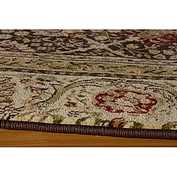 Westminster Brown Kashan Rug (7'10 x 10'10)
