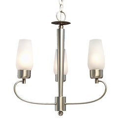 Woodbridge Lighting Soho 3-light Satin Nickel Chandelier