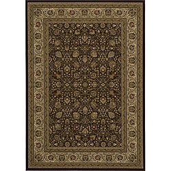 Westminster Brown Kashan Rug (3'11 x 5'7)