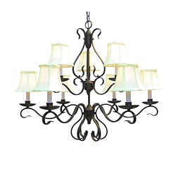 Woodbridge 9-light Oil-rubbed Bronze Chandelier