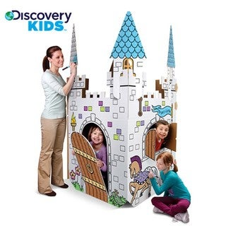 Discovery Kids Cardboard Play Castle