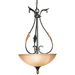 Woodbridge Lighting Easton 3-light Coffee Pendant