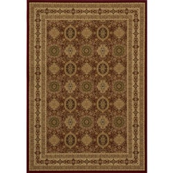 Westminster Tabriz Red Panel Rug (9'10 x 13'6)