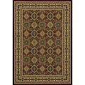 Westminster Tabriz Red Panel Rug (7'10 x 10'10)
