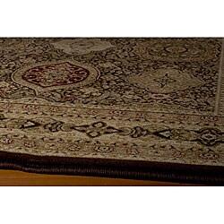 Westminster Tabriz Brown Panel Rug (2' x 3'3)