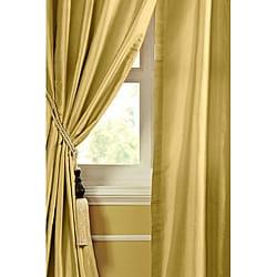 Geneva Dupioni Silk 84-inch Curtain Panel