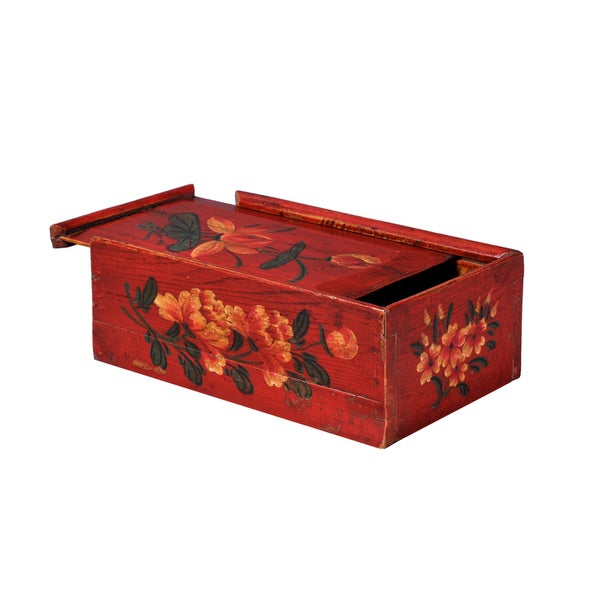 Wooden Decorative Sewing Box