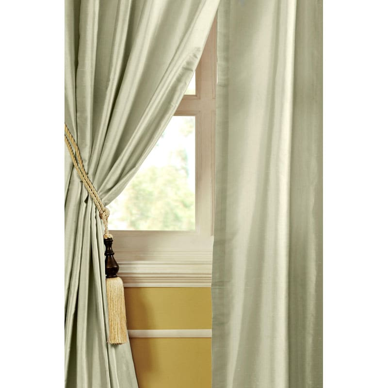 Mirla Dupioni Silk 84-inch Curtain Panel