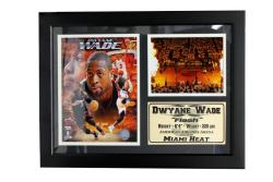 Miami Heat Dwayne Wade Frame
