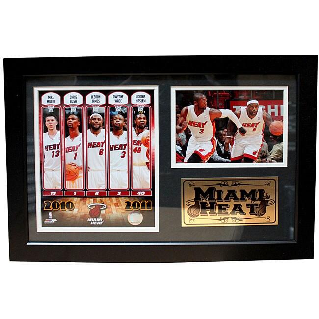 2011 Miami Heat Photo Frame