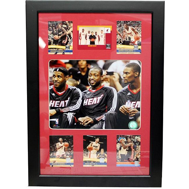 Miami Heat 'Big 3' Photo Frame
