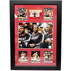 Miami Heat 'Big 3' Photo Frame