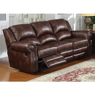 Fulton Dual Double Reclining Sofa