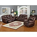 Fulton Dual Reclining Sofa and Loveseat Set