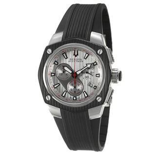 Bulova Accutron Men's 'Corvara' Rubber Strap Chronograph Watch