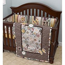 Cotton Tale Penny Lane 4-piece Crib Bedding Set