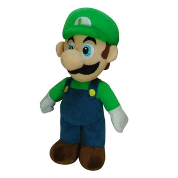 Super Mario Brothers Luigi 9-inch Plush Collectible Stuffed Toy 8134625