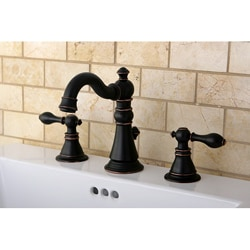 American Patriot Two-tone Oil Rubbed Bronze Bathroom Faucet