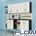 Flow Wall 6-piece Cabinet Set with Bins