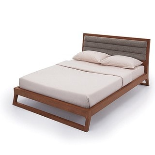 Cellini Modern Brown Queen-size Bed