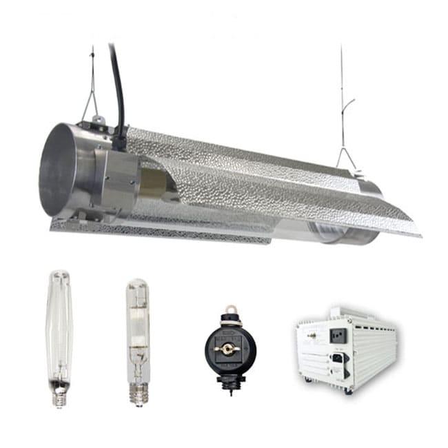 Virtual Sun 400 Watt HPS+MH Grow Light Tube Hood Kit