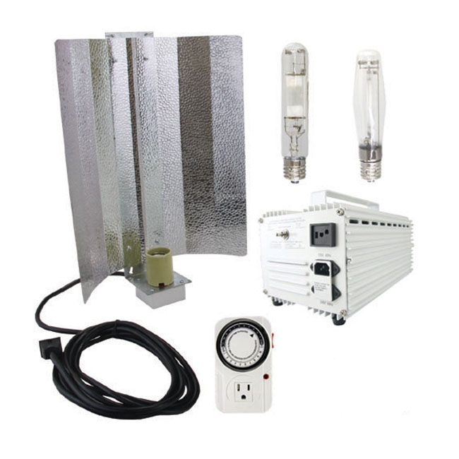 Virtual Sun 400-watt Hood HPS+MH Grow Light System Kit