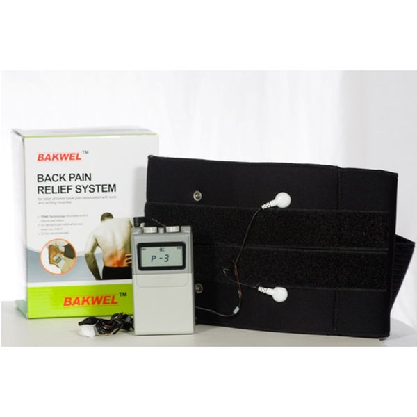 Bakwell Digital TENS Low Back Belt All-in-one Back Pain Relief