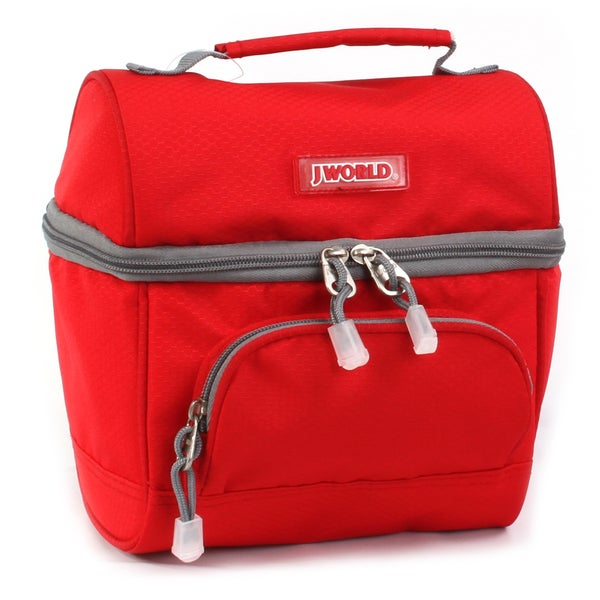 J World Corey Red Lunch Bag