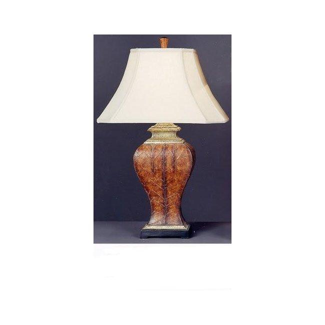 Upward Mobility Modern Red/ Orange Table Lamp